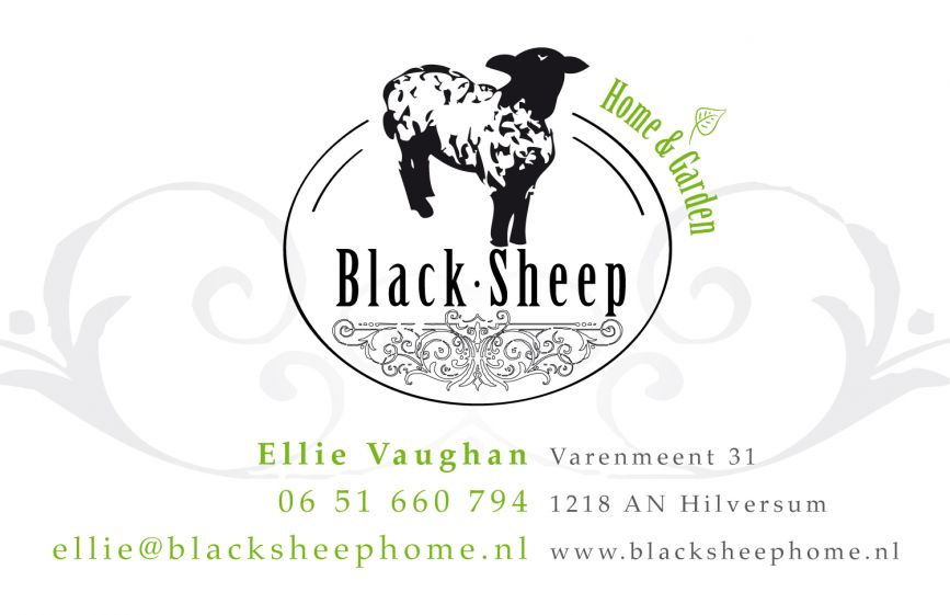 Black Sheep visitekaartje